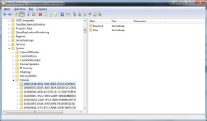 Групповые политики в консоли  Active Directory